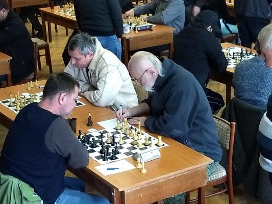 Pohľad na 3. a 4.šachovnicu.